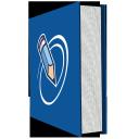 s icons, social, media, icons, books, set, 512x512, 0034, levels 1 copy 33