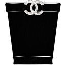 black chanel trash1