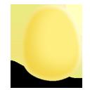 huevo, amarelo, mate