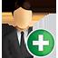business, user, add