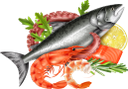 морепродукты, осьминог, креветки, красная рыба, лимон, еда, seafood, shrimp, octopus, red fish, lemon, food, meeresfrüchte, garnelen, tintenfisch, roter fisch, zitrone, essen, fruits de mer, crevettes, poulpe, poisson rouge, citron, nourriture, frutti di mare, gamberi, polpi, pesce rosso, limone, cibo, frutos do mar, camarão, polvo, peixe vermelho, limão, comida, морепродукти, восьминіг, червона риба, їжа