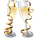 champagne, web celebrities, glass