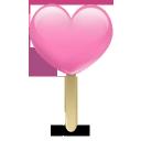 icecream pink heart
