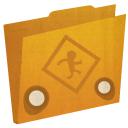 folder, public, публичная папка, бегущий человек