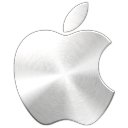 apple logo metal