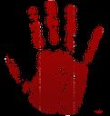 кровь png, отпечаток ладони, png blood, png blut, sang png, png sangre, huella de la mano, il sangue png, sangue png, handprint