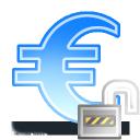 sign euro unlock
