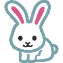 emoji, u1f407