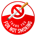 thank you for not smoking icon