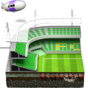 стадион, stadium, бейсбол, baseball, дерижабль, airship, dirigible