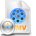 wmv file clock