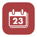 metro u i mac i cal, calendar