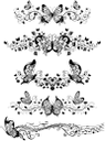 винтажный орнамент, декоративные узоры, бабочки, decorative patterns, butterflies, vintage ornament, ornamentale muster, schmetterlinge, ornement vintage, les ornements, les papillons, ornamento de la vendimia, los patrones ornamentales, mariposas, ornamento vintage, motivi ornamentali, le farfalle, ornamento do vintage, ornamentos, borboletas, вінтажний орнамент, декоративні візерунки, метелики