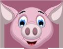 животные, розовый поросенок, голова поросенка, свинья, поросенок, animals, pink pig, pig's head, pig, tiere, rosa schwein, schweinekopf, schwein, animaux, cochon rose, tête de cochon, cochon, animales, cerdo rosado, cabeza de cerdo, cerdo, animali, maiale rosa, testa di maiale, maiale, animais, porco rosa, cabeça de porco, porco, тварини, рожевий порося, голова порося, свиня, порося