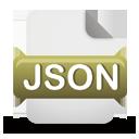 json, file