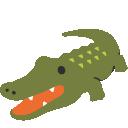 emoji, u1f40a