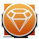 sketch, diamond
