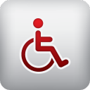 handicapped, person