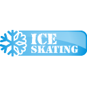ice, skating, button