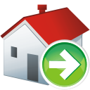 home, next, arrow right, house, дом, стрелка вправо, следующий