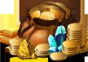 деньги, мешок с деньгами, золотая монета, золотой слиток, кристалл, драгоценные камни, золотой самородок, золото, money, money bag, gold coin, gold bar, crystal, precious stones, gold nugget, geld, geldsack, goldmünze, goldbarren, kristall, edelsteine, goldnugget, gold, argent, sac d'argent, pièce d'or, lingot d'or, pierres précieuses, pépite d'or, or, dinero, bolsa de dinero, moneda de oro, barra de oro, piedras preciosas, pepita de oro, soldi, borsa dei soldi, moneta d'oro, lingotti d'oro, cristallo, pietre preziose, pepita d'oro, oro, dinheiro, saco de dinheiro, moeda de ouro, barra de ouro, cristal, pedras preciosas, pepita de ouro, ouro, гроші, мішок з грошима, золота монета, золотий злиток, кристал, дорогоцінні камені, золотий самородок