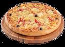 пицца с сыром и ветчиной, pizza with ham and cheese, pizza mit schinken und käse, pizza avec jambon et fromage, pizza con jamón y queso, pizza con prosciutto e formaggio, pizza com presunto e queijo