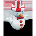 snowman xmas, снеговик