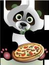 животные, панда, медведь, бамбуковый медведь, большая панда, пицца, animals, bear, bamboo bear, big panda, pizza, tiere, bär, bambusbär, großer panda, animaux, ours, ours en bambou, gros panda, animales, oso, oso de bambú, animali, orso, orso di bambù, grande panda, animais, panda, urso, urso de bambu, panda grande, тварини, ведмідь, бамбуковий ведмідь, велика панда, піца