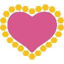 emoji, u1f49f