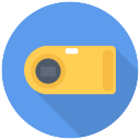 point & shoort camera icon
