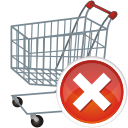 shopping, cart, remove