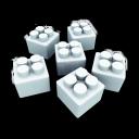 white legos, конструктор, constructor, белое лего