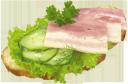 бутерброд с ветчиной и зеленью, хлеб с ветчиной, sandwich with ham and greens, bread with ham, sandwich mit schinken und gemüse, brot mit schinken, sandwich avec jambon et légumes, du pain avec du jambon, sándwich con jamón y verduras, pan con jamón, panino con prosciutto e verdure, pane con prosciutto, sanduíche com presunto e verduras, pão com presunto