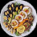 устрицы, огурец, морские гребешки, перепелиные яйца, овощи, морепродукты, морковь, лимон, тарелка с морепродуктами, oysters, cucumber, scallops, quail eggs, vegetables, seafood, carrots, lemon, plate of seafood, austern, gurken, muscheln, wachteleier, gemüse, meeresfrüchte, karotten, zitrone, teller mit meeresfrüchten, les huîtres, les concombres, les pétoncles, les œufs de caille, légumes, fruits de mer, carottes, citron, plaque de fruits de mer, huevos de codorniz, verduras, mariscos, zanahorias, limones, placa de pescados y mariscos, ostriche, cetrioli, capesante, uova di quaglia, verdure, pesce, carote, limone, piatto di frutti di mare, ostras, pepino, vieiras, ovos de codorna, legumes, frutos do mar, cenoura, limão, placa de frutos do mar