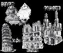 архитектурное строение, символы городов, символ страны, франция, египет, италия, чехия, сфинкс, падающая пизанская башня, пиза, архітектурна будова, символи міст, символ країни, франція, єгипет, італія, чехія, сфінкс, падаюча пізанська вежа, париж, піза, прага, architectural structure, symbols of cities, the symbol of the country, france, egypt, italy, the czech republic, the sphinx, the falling pisa tower, architektonische struktur, symbol der stadt, ein symbol des landes, frankreich, ägypten, italien, tschechische republik, die sphinx, schiefer turm, prag, structure architecturale, symbole de la ville, un symbole du pays, la france, l'egypte, l'italie, la république tchèque, le sphinx, tour penchée, pise, prague, estructura arquitectónica, símbolo de la ciudad, un símbolo del país, francia, egipto, la esfinge, torre de pisa, parís, struttura architettonica, simbolo della città, simbolo del paese, la francia, egitto, italia, repubblica ceca, la sfinge, torre pendente, parigi, estrutura arquitectónica, símbolo da cidade, um símbolo do país, frança, egito, itália, república checa, a esfinge, torre inclinada, paris, pisa, praga