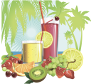 стакан сока, фруктовый сок, киви, клубника, лайм, апельсин, вишня, виноград, пальма, тропики, a glass of juice, fruit juice, strawberry, grapes, cherry, tropics, ein glas saft, fruchtsaft, palm, limette, erdbeere, trauben, kirsche, tropen, un verre de jus, jus de fruit, palme, citron vert, orange, fraise, raisin, cerise, tropique, un vaso de jugo, jugo de fruta, lima, naranja, fresa, uvas, cereza, un bicchiere di succo di frutta, succo di frutta, lime, arancia, fragola, ciliegia, tropici, um copo de suco, suco de fruta, palma, kiwi, limão, laranja, morango, uva, cereja, trópicos, стакан соку, фруктовий сік, ківі, полуниця, тропіки