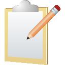 note, edit, заметка, запись, редактировать, file, файл, планшетка, board, clipboard, planchette