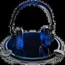 headphones blue copy