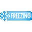 freezing, button