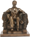 авраам линкольн, статуэтка линкольна, абрахам линкольн, statue of lincoln, statue von lincoln, statue de lincoln, estatua de lincoln, statua di lincoln, estátua de lincoln, abraham lincoln