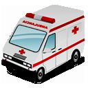 ambulance, 128, hot