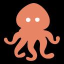 octopus, devilfish, squid, sea, ocean, food, морской обитатель, осьминог, океан, еда