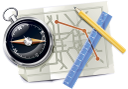 линейка, карандаш, навигация, map, compass, ruler, pencil, karte, kompass, lineal, bleistift, carte, boussole, règle, crayon, navigation, compás, regla, lápiz, la navegación, mappa, bussola, righello, matita, la navigazione, mapa, compasso, régua, lápis, navegação, карта, компас, лінійка, олівець, навігація