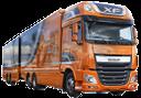 daf, даф, грузовой автомобиль, грузовик с прицепом, магистральный тягач, фура, автомобильные грузоперевозки, голландский грузовик, lorry, truck with trailer, trunk tractor, wagon, trucking, dutch truck, ein lkw, ein lkw mit einem anhänger, strecke traktor, wagen, lkw, lkw-niederländisch, un camion avec une remorque, un tracteur courrier, chariot, camionnage, camion néerlandais, un camión, un camión con remolque, camiones de remolque, camiones, camión holandés, un camion, un camion con un rimorchio, trattori raggio, carro, autotrasporti, camion olandese, um caminhão, um caminhão com um reboque, trator reboque, vagão, transporte por caminhão, caminhão holandês, оранжевый