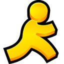 aol instant messenger, мессенджер