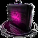 briefcase pink
