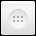 app, drawer, white