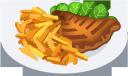 картофель фри, стейк, жареный картофель, мясо, еда, тарелка с едой, french fries, fried potatoes, meat, food, plate with food, pommes frites, bratkartoffeln, fleisch, essen, teller mit essen, frites, pommes de terre frites, steak, viande, nourriture, assiette avec de la nourriture, papas fritas, patatas fritas, bistec, plato con comida, patatine fritte, patate fritte, bistecca, cibo, piatto con cibo, batatas fritas, bife, carne, comida, prato com comida, картопля фрі, смажена картопля, м'ясо, їжа, тарілка з їжею