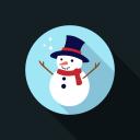 snowman, icon