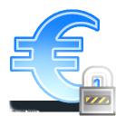 sign euro lock